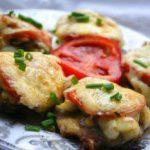 Мясо по-французски с грибами и майонезом