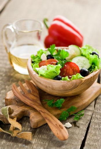 Рецепт греческого салата с помидорами черри и брынзой
