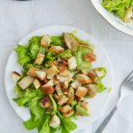 Американский салат с курицей
