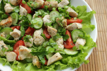 весенний свежий салат рецепт