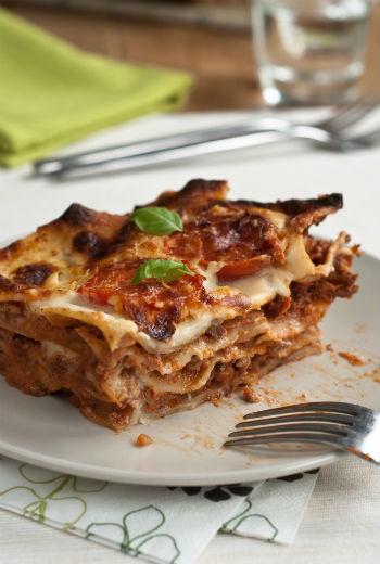 Рецепт лазаньи с соусом болоньез