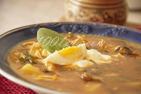 вкусный суп со щавелем и яйцом рецепт с фото