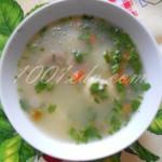 Грибной суп с галушками в мультиварке