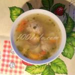 Суп с овощами и фрикадельками в мультиварке