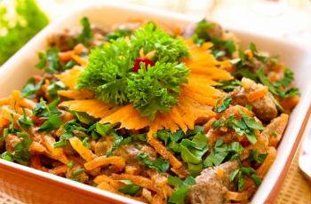 """Салат """"Сытый обжорка"""" – кулинарный рецепт"""