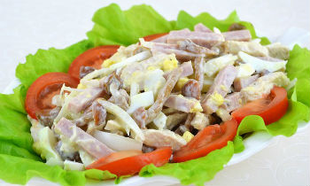 Аселга отварная с ветчиной – кулинарный рецепт