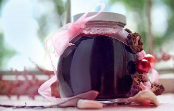 Варенье из черники с фруктозой