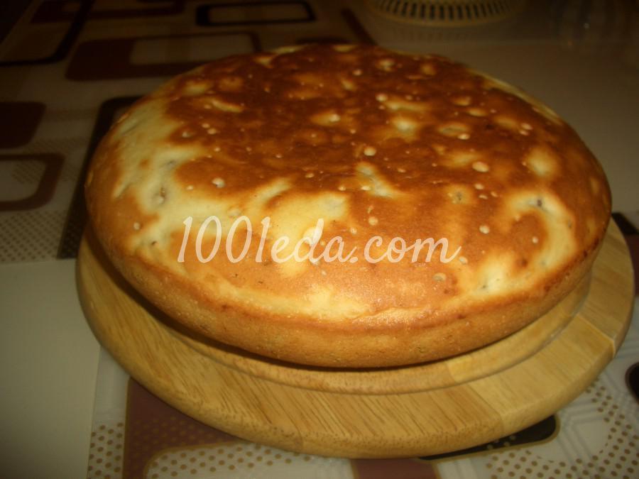 Сметанный пирог с изюмом в мультиварке рецепты с фото