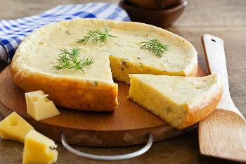 """Тыквенно-сырные лепешки """"Рыжики"""" – кулинарный рецепт"""