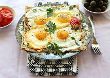 Рецепты приготовления вкусной яичницы