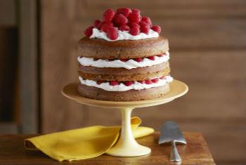Рецепт торта с малиной