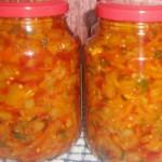 Грибной салат с овощами на зиму
