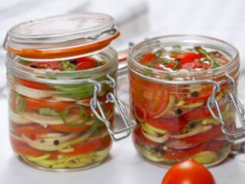 салаты на зиму из помидор рецепты самый вкусный #13
