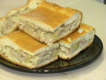 пирог мясной в мультиварке рецепты с фото