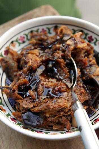 Рецепт баклажанов в кисло-сладком соусе на зиму