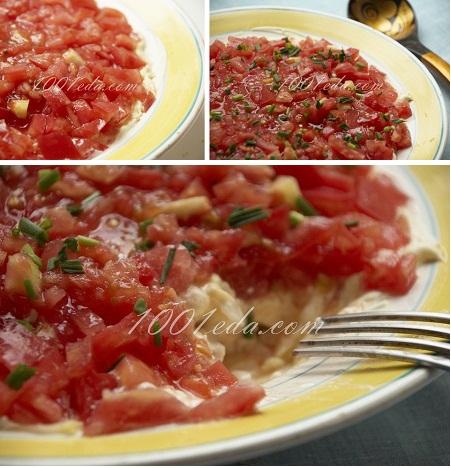 рецепт салата из курицы и помидоров с фото