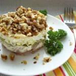 Быстрый яблочно-яичный салат