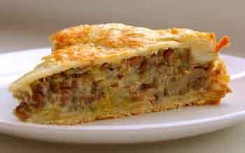 Пирог с мясом и яйцом в мультиварке » ВКУСНЫЕ РЕЦЕПТЫ 13