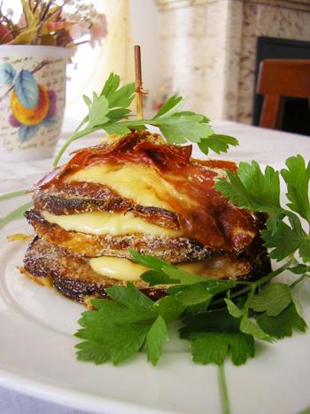 бутерброды с баклажанами в духовке рецепт с фото