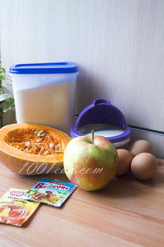Плов с тыквой и яблоками, пошаговый рецепт с фото