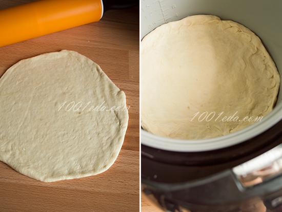 Мясной пирог в мультиварке без дрожжей рецепты с фото пошагово