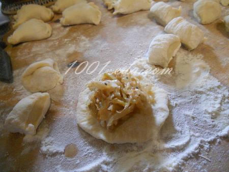 Вареники с капустой, пошаговый рецепт с фото