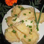 Вареники с капустой: рецепт с пошаговым фото
