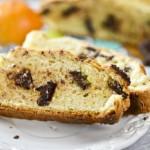 Содовый хлеб с кусочками шоколада