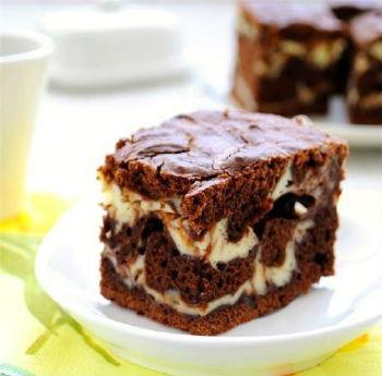 творожно шоколадный торт рецепт с фото