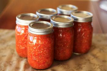 рецепты вареной аджики с морковью