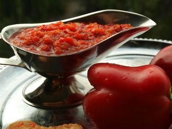 аджика грузинская рецепт приготовления с помидорами