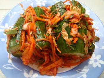 Рецепт огурцов по-корейски