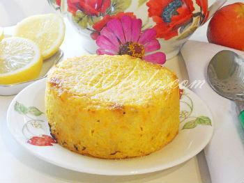 Рисовая запеканка рецепт с пошаговым фото