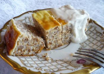 Запеканка из картофеля с сыром и чесноком  рецепт с фото