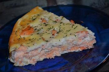 рыбный торт рецепт с фото из семги пошагово