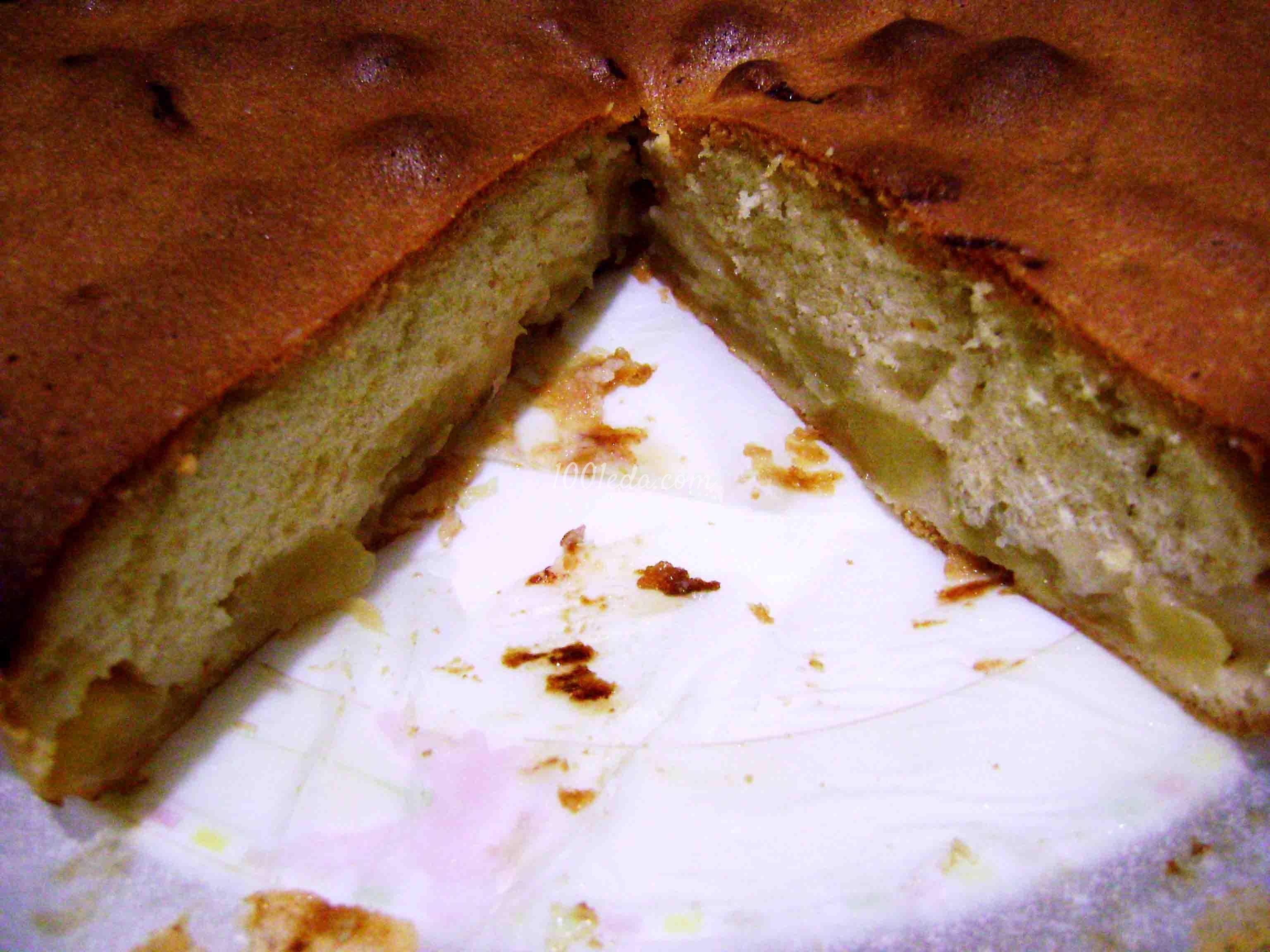 Шарлотка с яблоками и лимоном рецепт пошагово самый воздушный