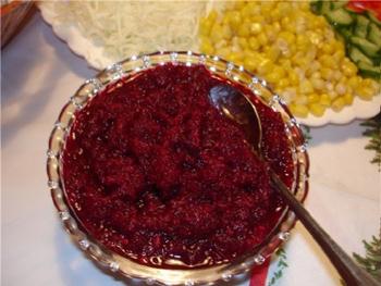 Аджика из свеклы на зиму рецепты с фото простые и вкусные - dcd