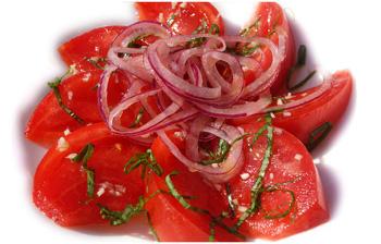 Приготовление салата из помидор — pic 4