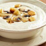 Грибной крем-суп с картошкой
