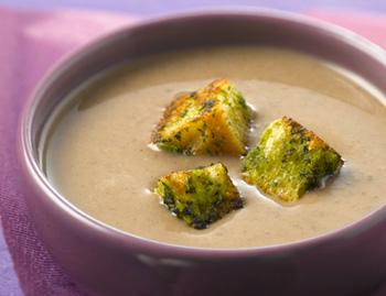 рецепты супы грибные с сухариками ивермешелью с фото