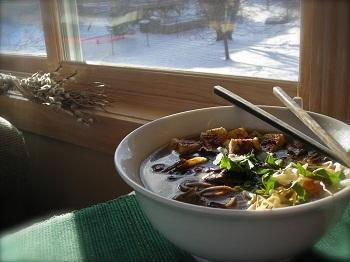 рецепт супа из фасоли и грибов