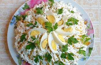 рецепт салата с фото с курицей