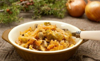 солянка грибная суп с капустой рецепт приготовления на зиму
