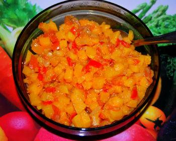 Салат из тыквы на зиму