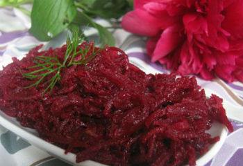 свекольный салат заготовки на зиму