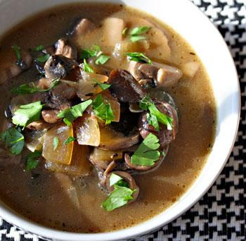 как приготовить суп с сухих грибов