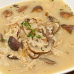 Грибной суп из сушеных грибов с рисом