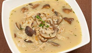 Калорийность в супе из сухих грибов