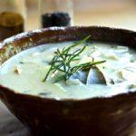 Грибной суп из сушеных грибов с сыром