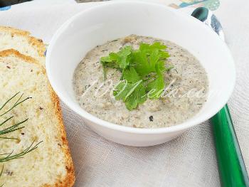 суп пюре с белыми грибами и курицей рецепт